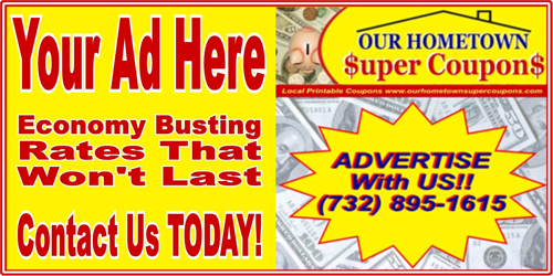 Advertise With Our Hometown Super Coupons On Your Local Town Page. Contact Us Today!