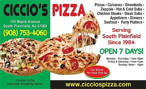Pizza, Specialty Pizza, Calzone and Stromboli