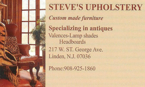 Established 1970 Specializing In Antiques Custom Made Furniture