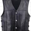 Leather  Vest #1. Call for price and availability.