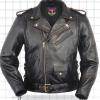 Men's Traditional Motorcycle Jacket With Belt. Call for price and availability.
