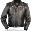 Men's Traditional Motorcycle Jacket Without Belt. Call for price and availability.