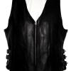 Leather  Vest #6. Call for price and availability.